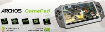 Hybryda tabletu i konsoli do gier Archos GamePad z Androidem i fizycznymi kontrolerami gier | zdjęcie 4