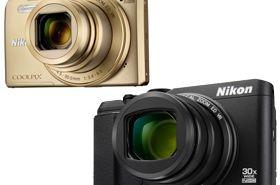 Nikon Coolpix S9900 - zoom 30x z Wi-Fi NFC i GPS, S7000 zoom