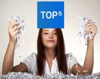 Jaka niszczarka do biura? TOP 5