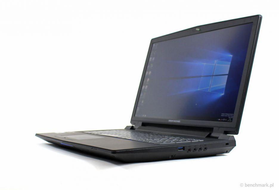 Dream Machines X980 - laptop do gier z Nvidia G-Sync | zdjęcie 2