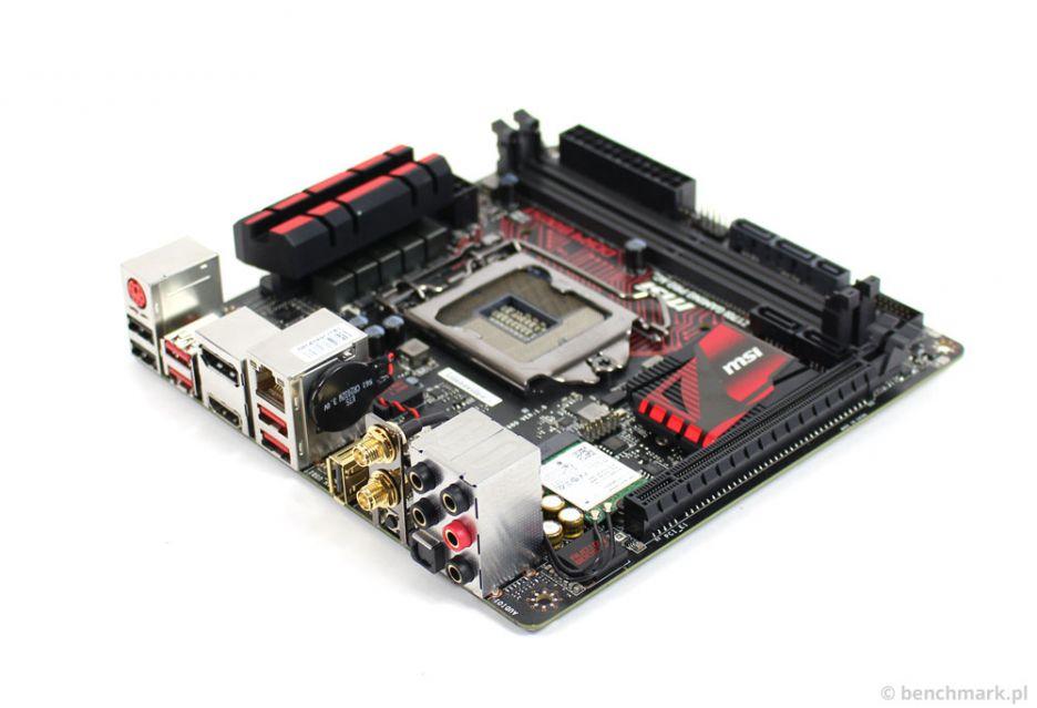 MSI Z170I Gaming PRO AC - maleństwo na wypasie   zdjęcie 2
