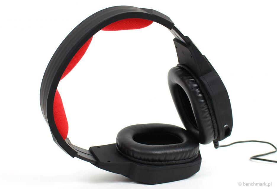 Natec Genesis H59 – test tanich słuchawek dla graczy | zdjęcie 3