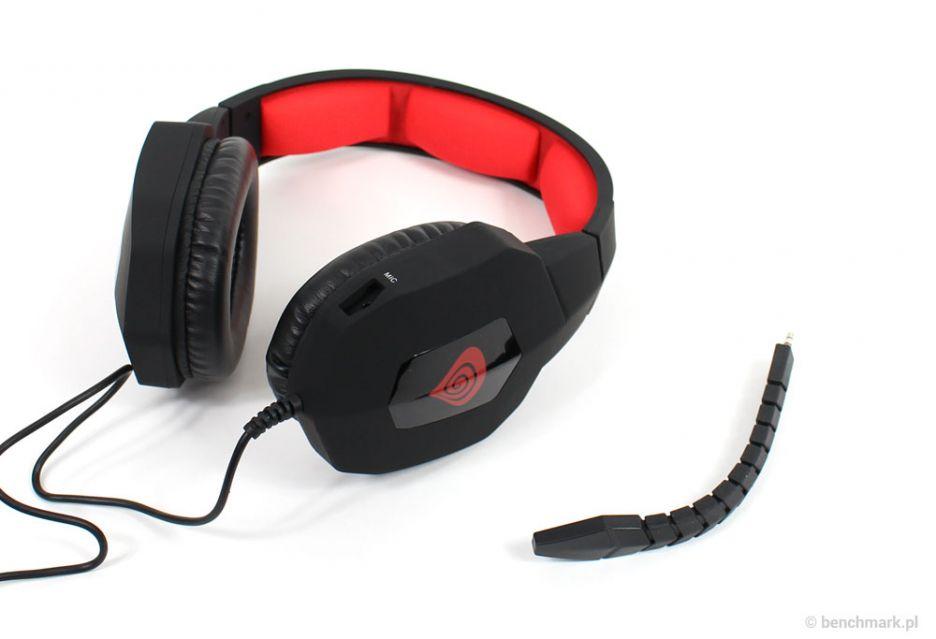 Natec Genesis H59 – test tanich słuchawek dla graczy | zdjęcie 4