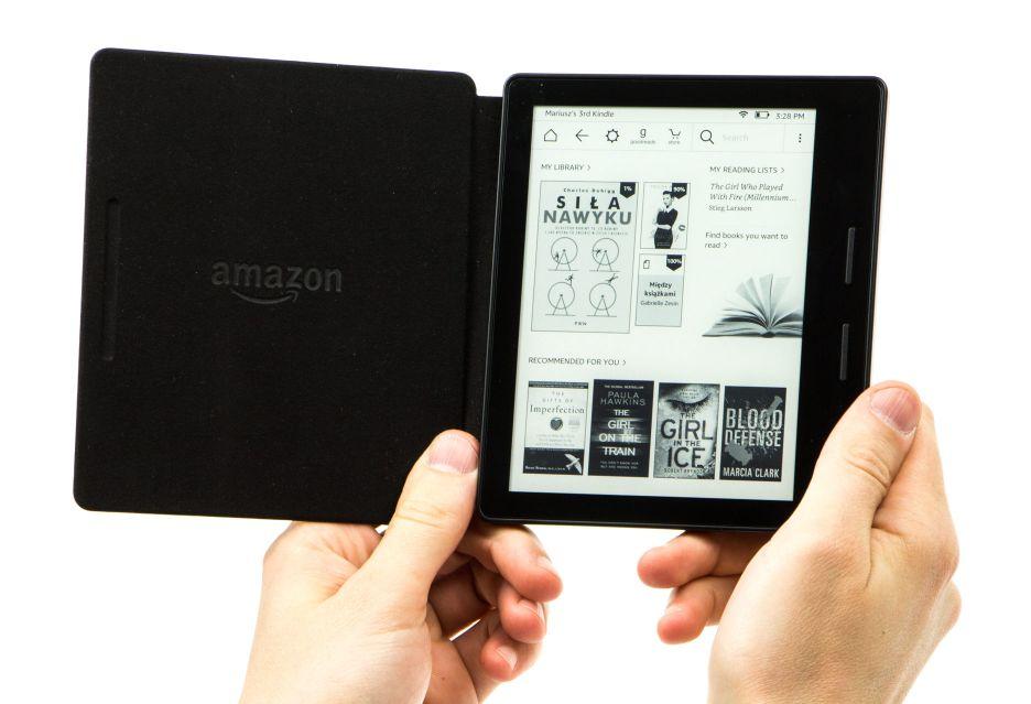 Kindle Oasis - do zaczytania jeden krok | zdjęcie 2