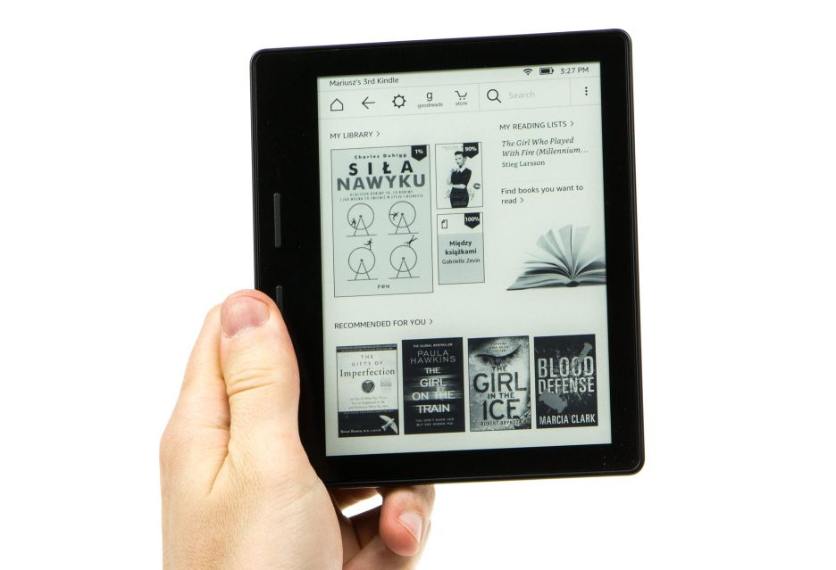 Kindle Oasis - do zaczytania jeden krok | zdjęcie 1