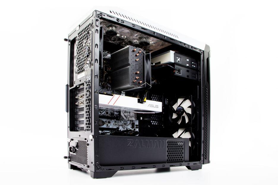 I wtedy wkracza on - cały na biało czyli Komputronik Infinity PBA-200 [W001] | zdjęcie 9