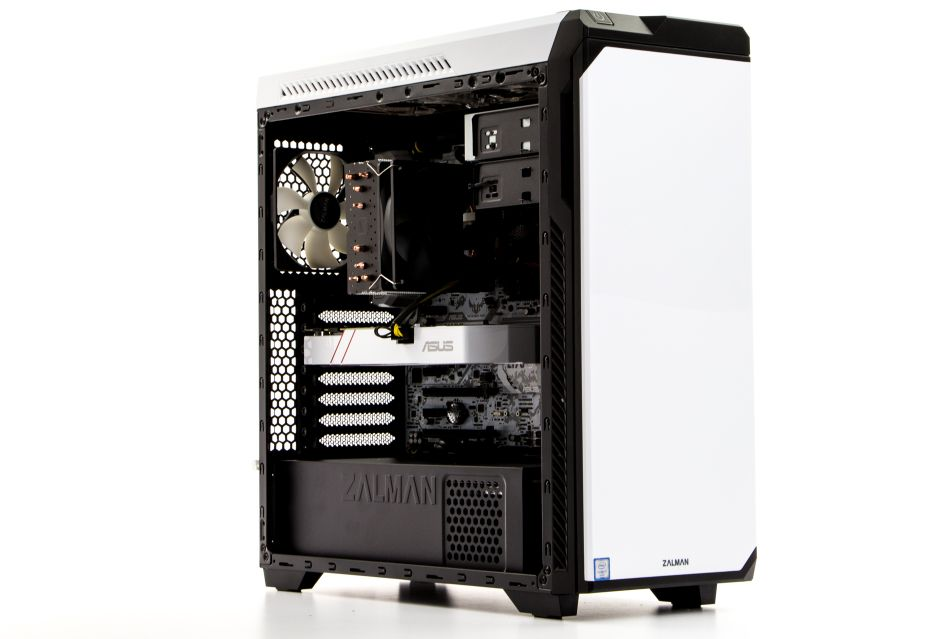 I wtedy wkracza on - cały na biało czyli Komputronik Infinity PBA-200 [W001] | zdjęcie 3