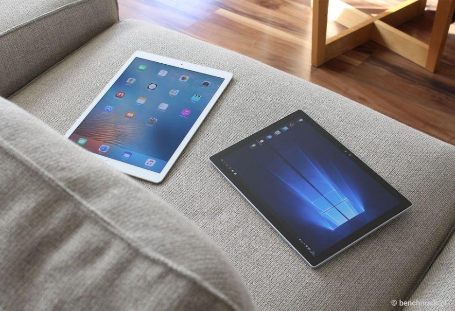 Microsoft Surface Pro 4 kontra iPad Pro – gra o (mobilny) tron | zdjęcie 1