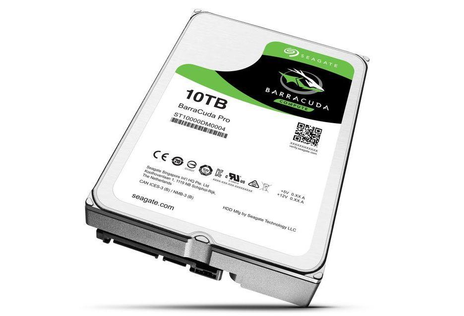 Seagate zapowiada dyski HDD o pojemności 12 TB