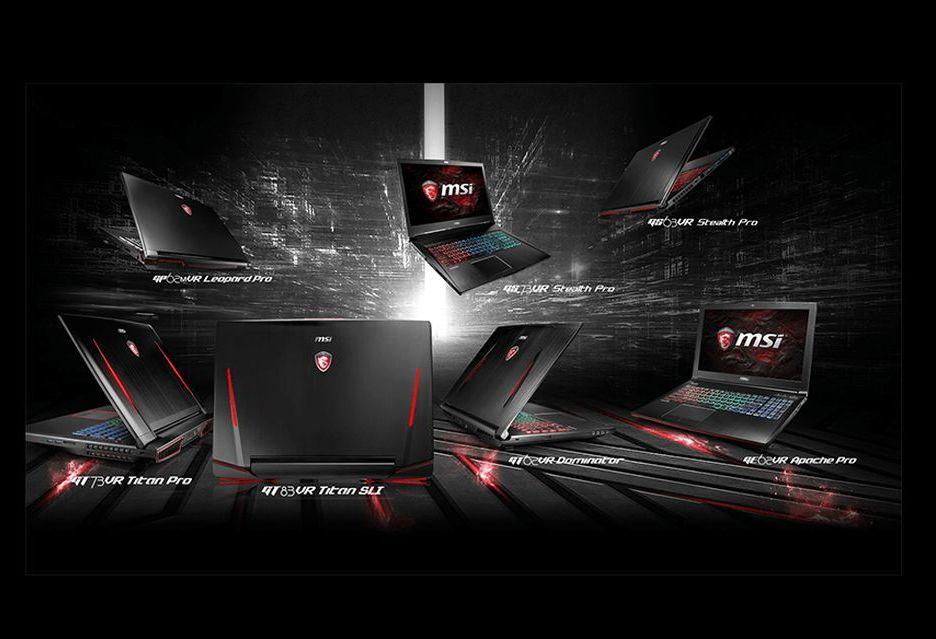 MSI zapowiada laptopy pod VR - premiera na Gamescom