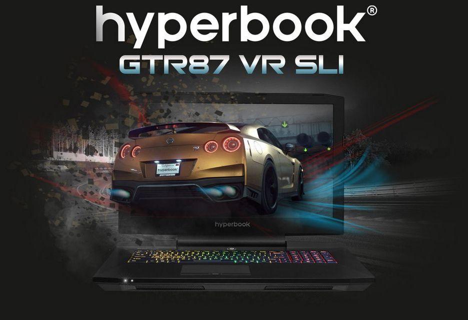Hyperbook prezentuje laptopy z kartami GeForce GTX 1000