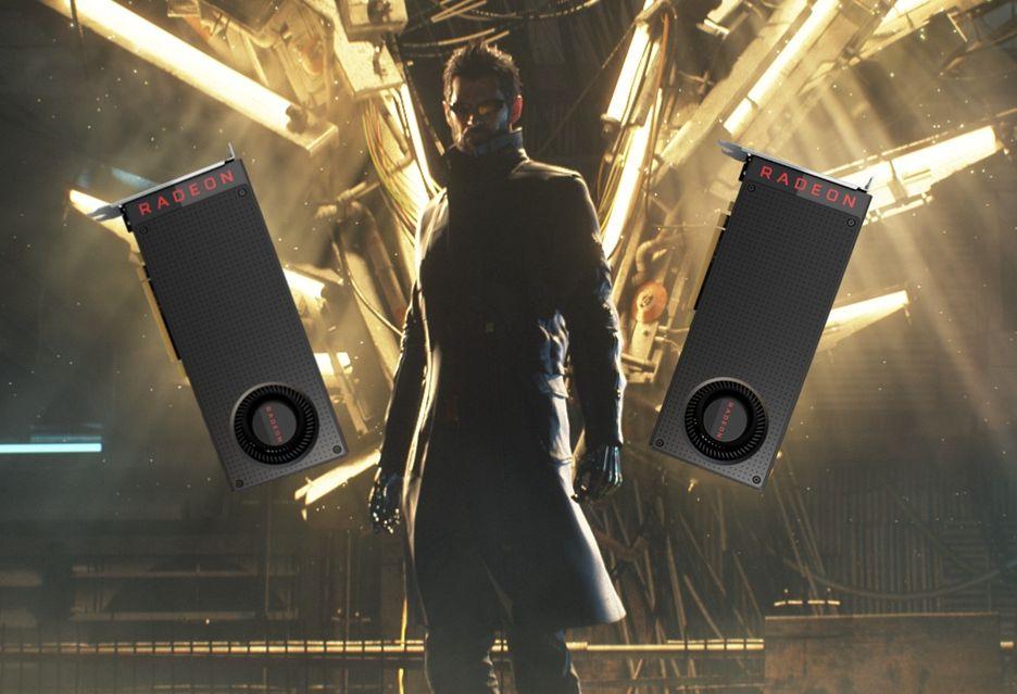 Deus Ex Mankind Divided z ważnym patchem poprawiającym skalowanie mGPU