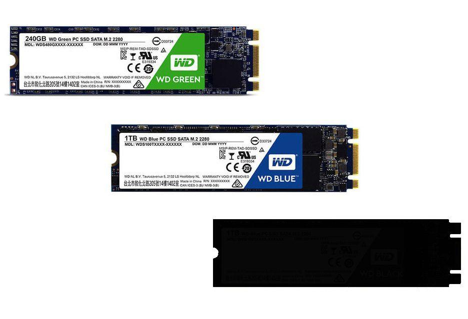 WD szykuje wydajne dyski Black SSD
