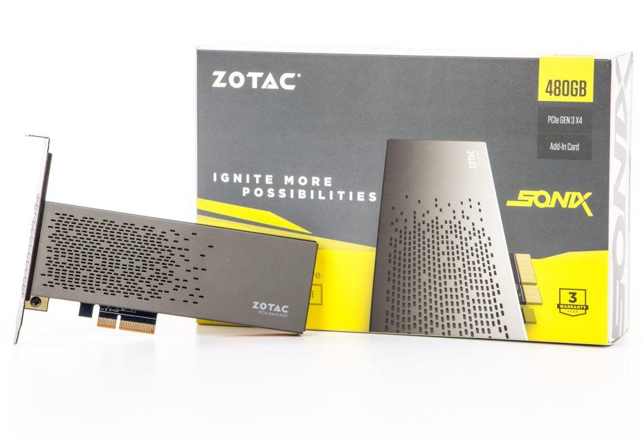 Zotac Sonix - rzut okiem na nośnik SSD PCIe | zdjęcie 1