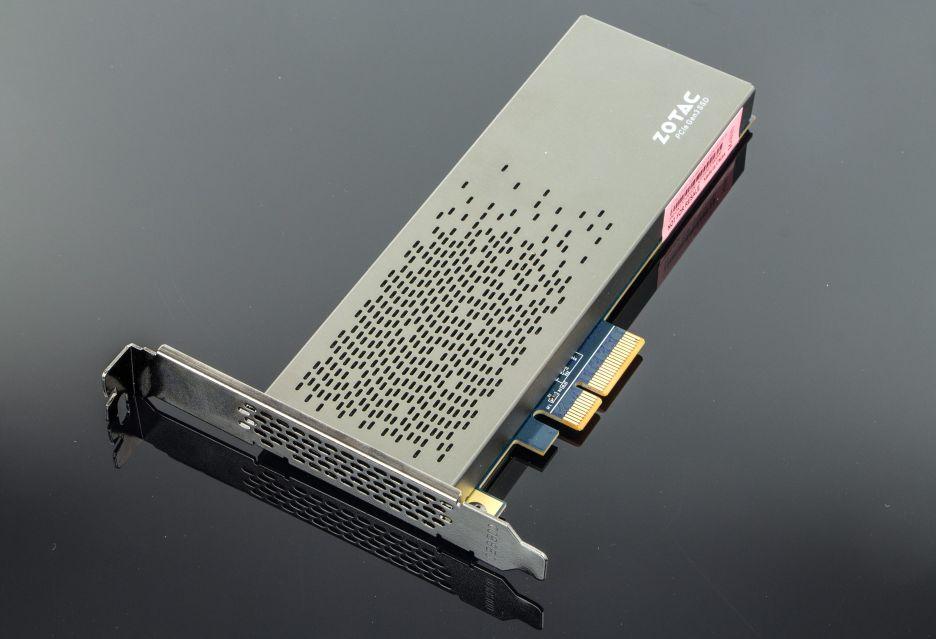 Zotac Sonix - rzut okiem na nośnik SSD PCIe | zdjęcie 4
