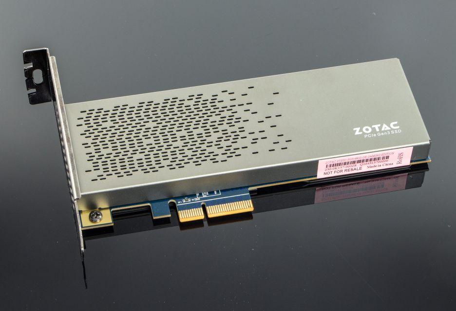 Zotac Sonix - rzut okiem na nośnik SSD PCIe | zdjęcie 3