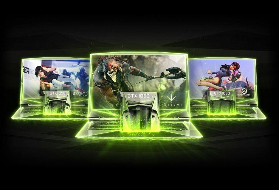 Nvidia wprowadza karty GeForce GTX 1050 i 1050 Ti do laptopów