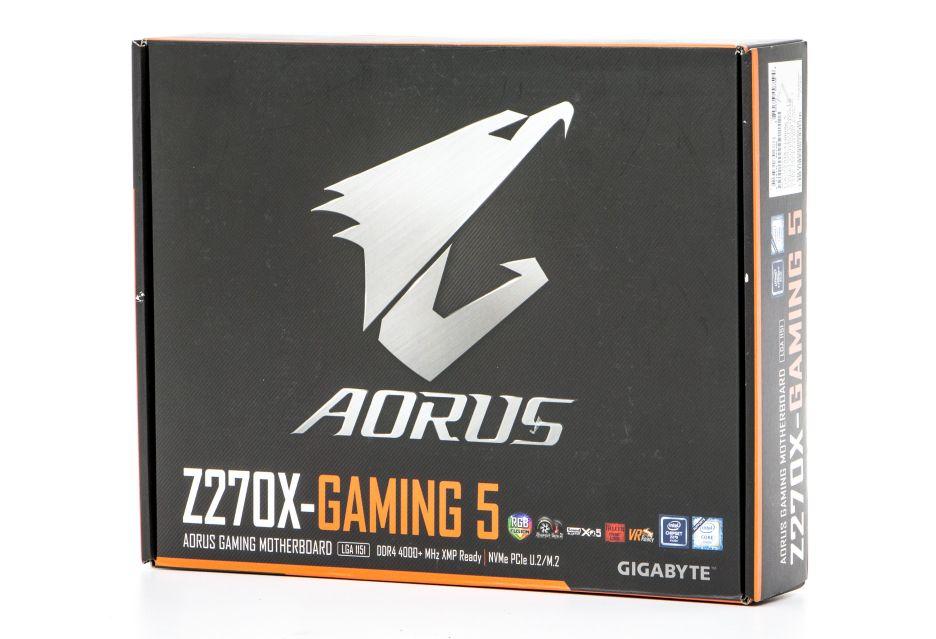 GIGABYTE AORUS Z270X-Gaming 5 - nowy rok, nowa seria płyt | zdjęcie 2
