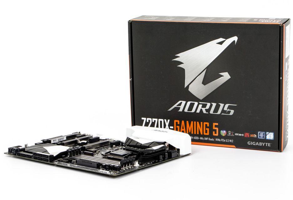 GIGABYTE AORUS Z270X-Gaming 5 - nowy rok, nowa seria płyt | zdjęcie 1