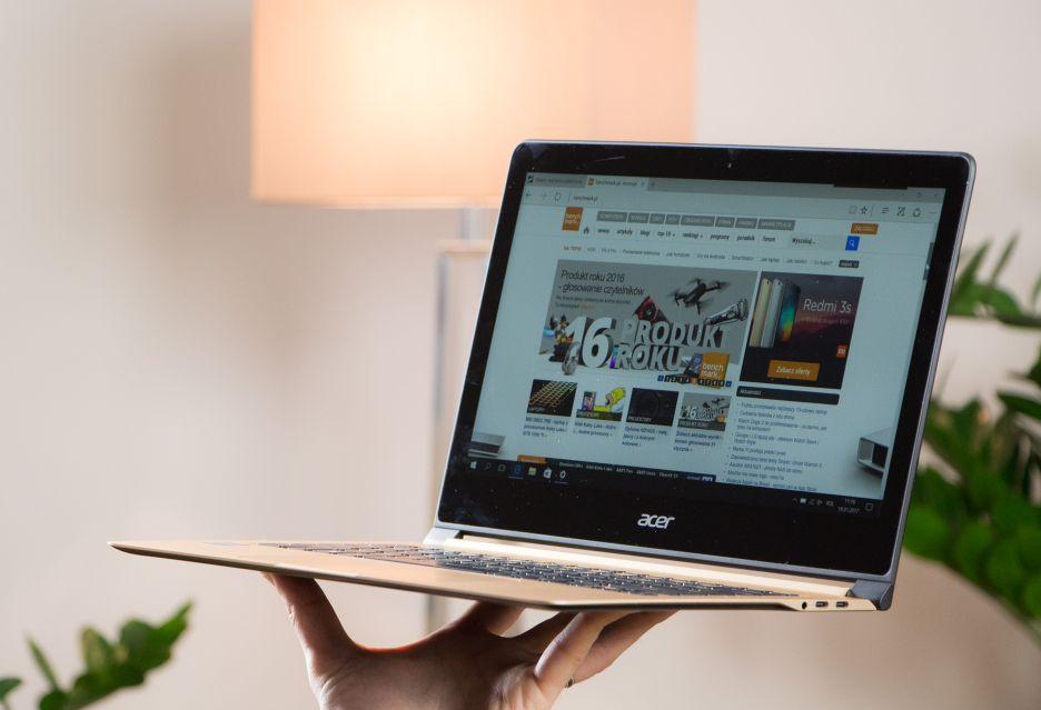 Acer Swift 7 - najcieńszy laptop z niespełna 10 mm obudową | zdjęcie 1