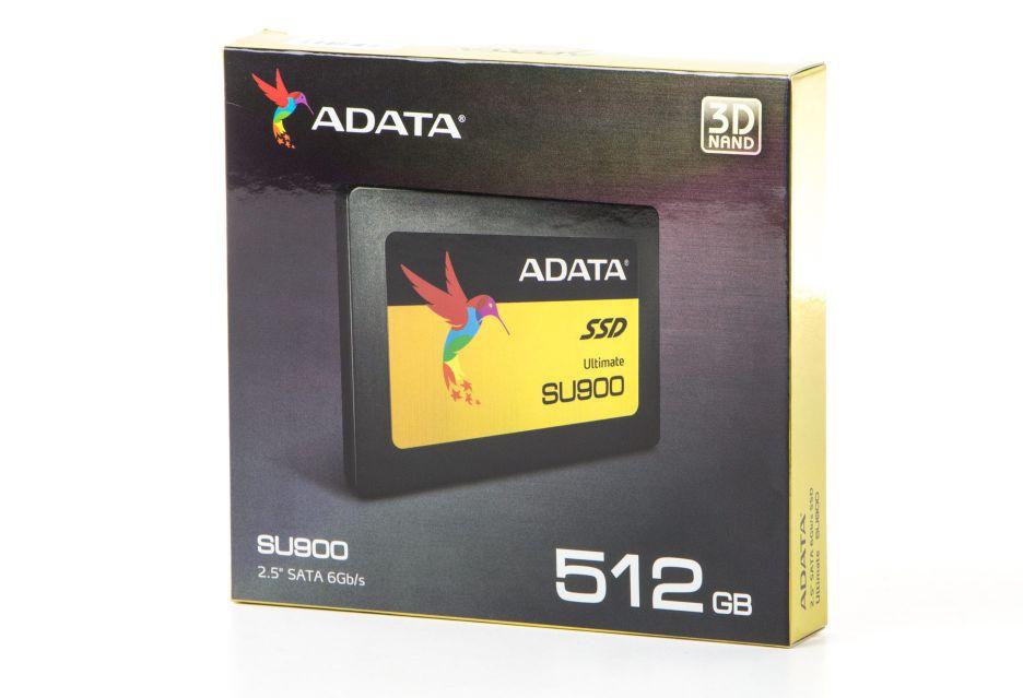 ADATA Ultimate SU900 512 GB – test dysku z pamięciami 3D MLC NAND | zdjęcie 1