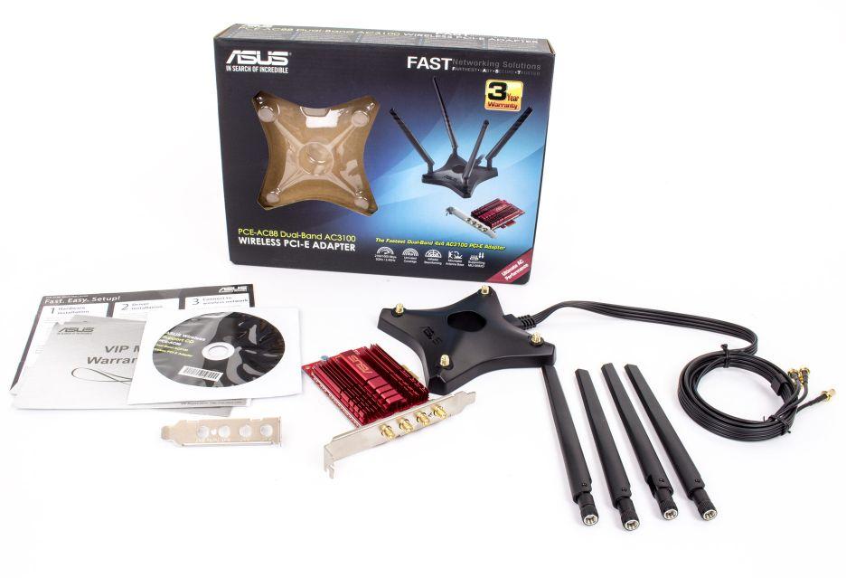 Asus PCE-AC88  - spotykając przyszłość | zdjęcie 2