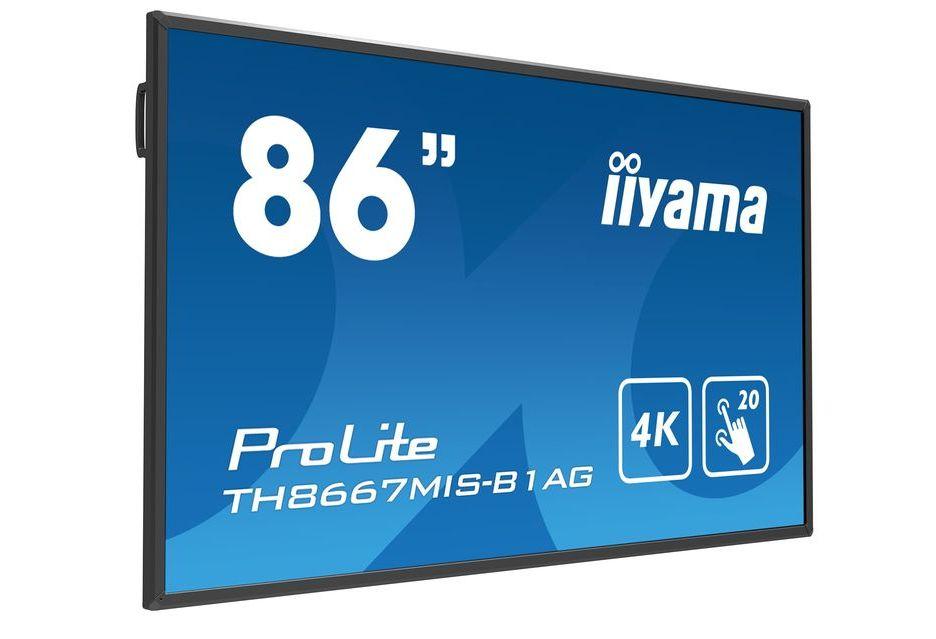 iiyama przedstawia 86-calowy interaktywny monitor 4K