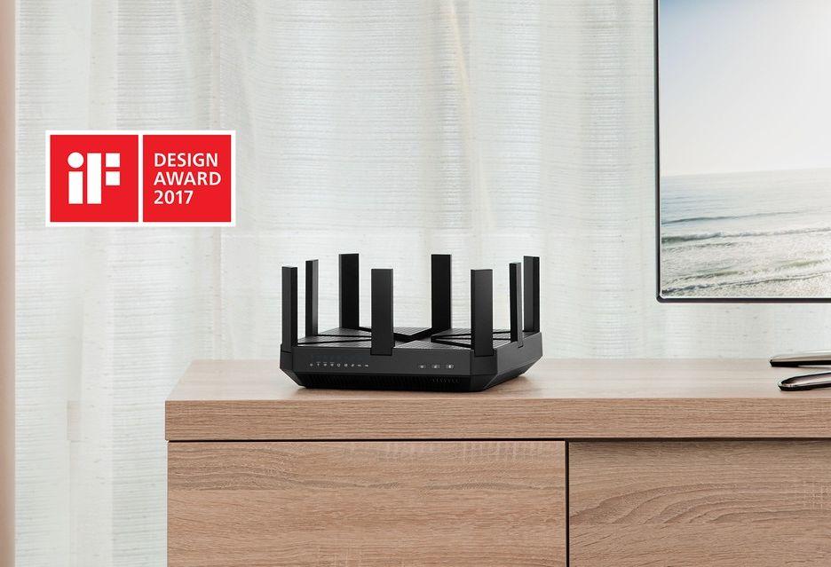 TP-Link Archer C5400 uhonorowany nagrodą iF Design Award