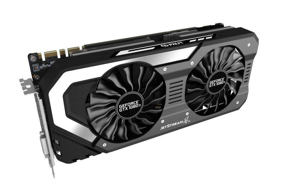 Palit GeForce GTX 1080 Ti w niereferencyjnej wersji JetStream i Super JetStream