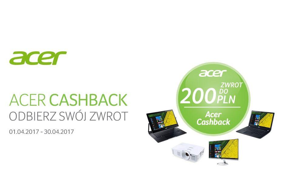 Acer zwraca nawet 200 złotych za laptopy, monitory i projektory