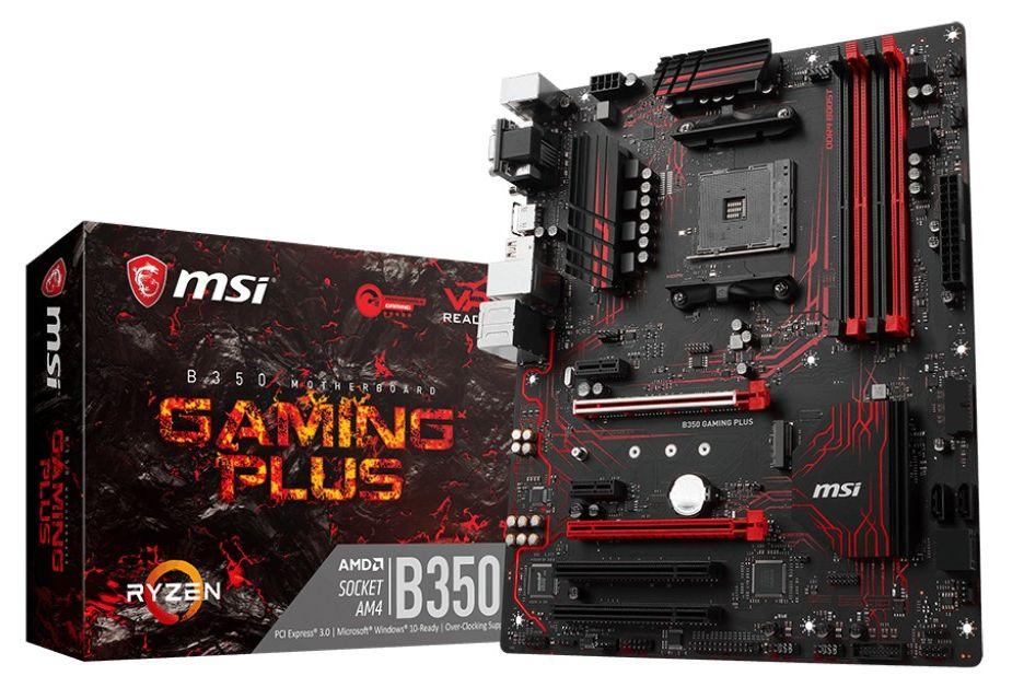 MSI B350 Gaming Plus - ekonomiczna płyta dla graczy pod AMD Ryzen