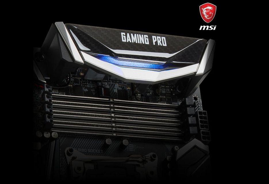 MSI X299 Gaming Pro - płyta dla graczy pod nowe procesory Intela