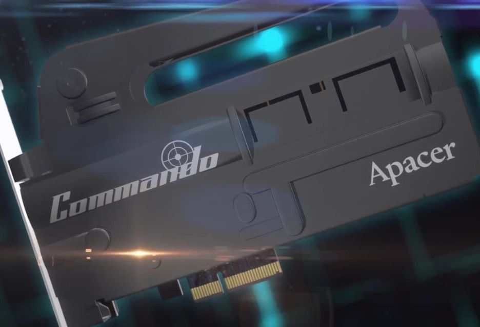 Apacer Commando PT920 PCIe SSD - takiego dysku jeszcze nie było