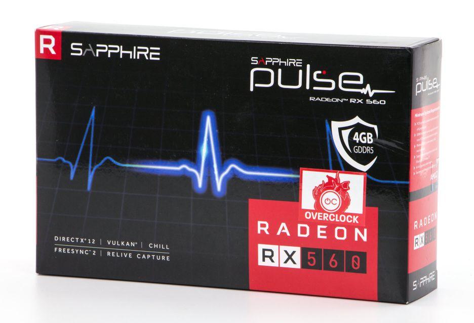 Sapphire Pulse Radeon RX 560 - niska półka w lepszym wydaniu | zdjęcie 1