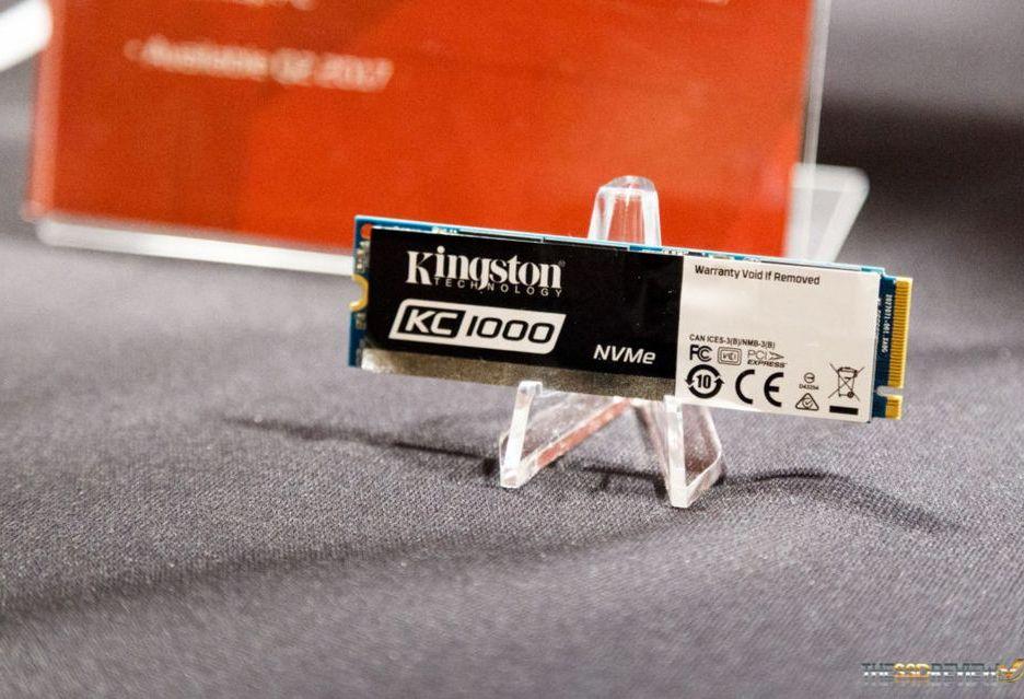 Kingston prezentuje nośniki KC1000 dla profesjonalistów