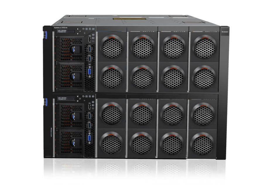 Lenovo x3950 X6 ustanawia nowy rekord wydajności w SAP SD