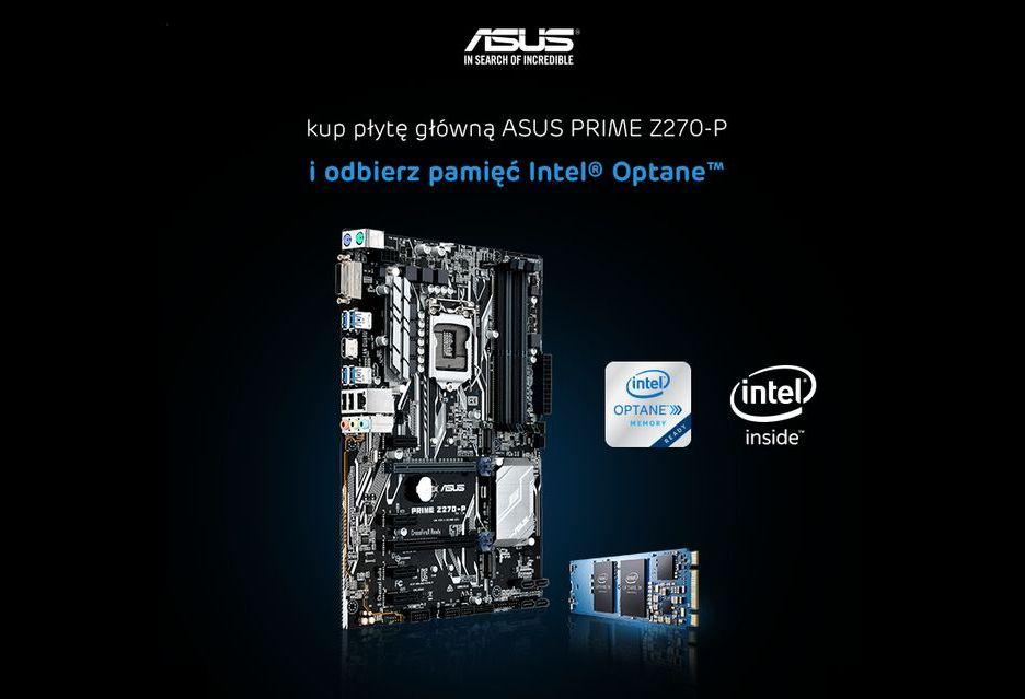 Intel Optane za darmo do wybranych płyt ASUS i Gigabyte