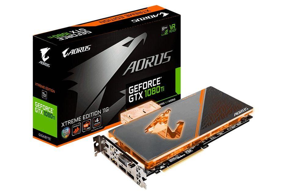 Gigabyte przedstawia kartę GeForce GTX 1080 Ti do zwodowania