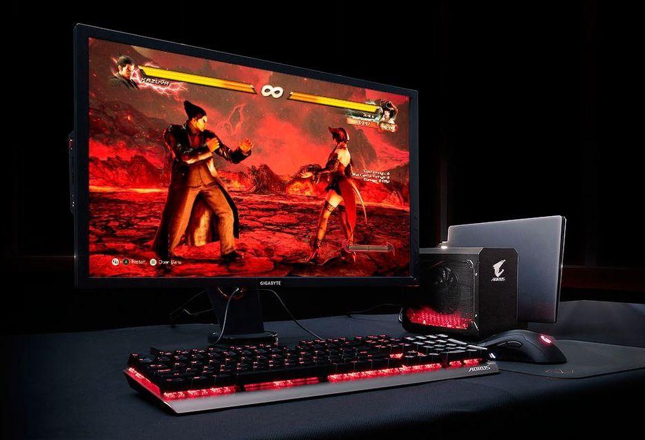 Desktopowa karta w laptopie dzięki Aorus GTX 1070 Gaming Box