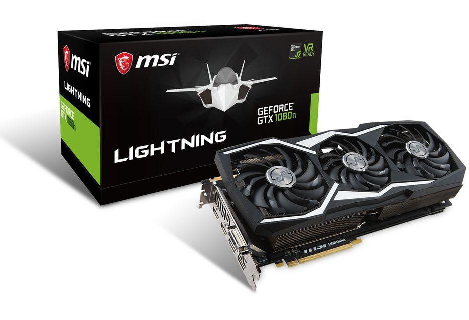 MSI GeForce GTX 1080 Ti Lightning Z już oficjalnie - efektownie i solidnie
