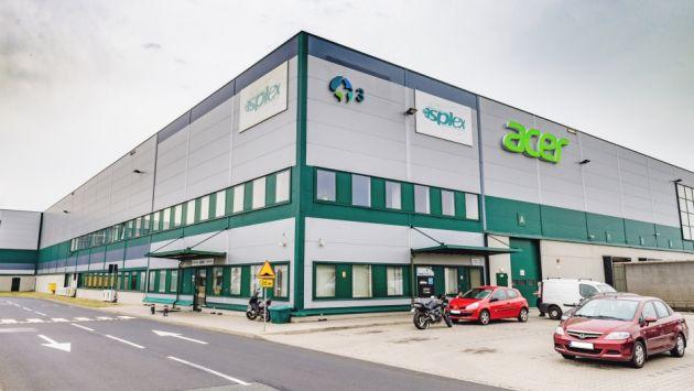 Z wizytą w Asplex - wrocławskim centrum logistyczno-serwisowym Acer