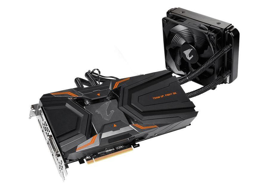 Gigabyte GeForce GTX 1080 Ti z chłodzeniem wodnym AiO