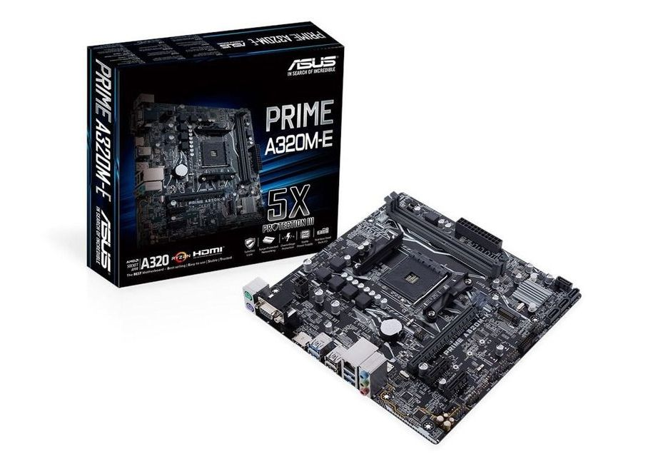 ASUS Prime A320M-E - funkcjonalna i niedroga płyta pod AM4