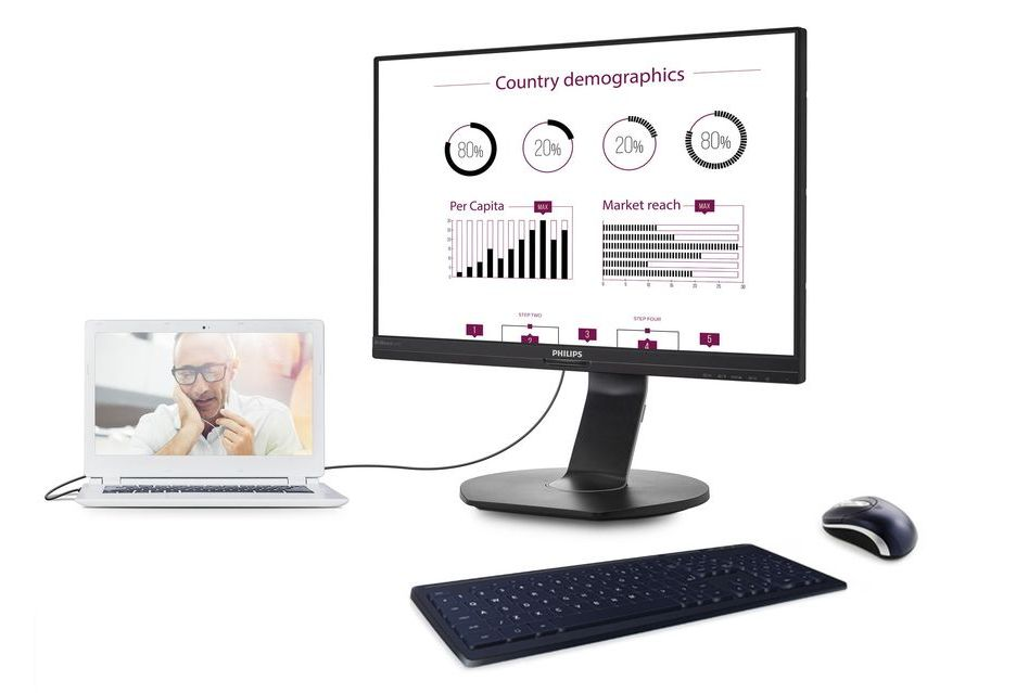 Philips wprowadza do oferty monitor pod USB 3.0