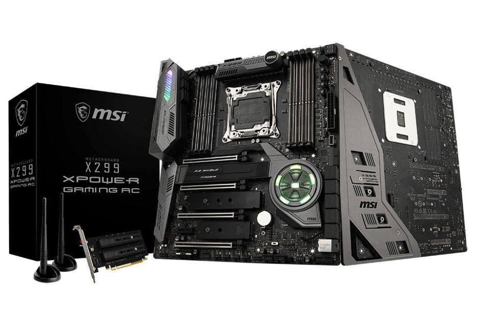 MSI X299 XPower Gaming AC - płyta pod Intel Core X na bogato