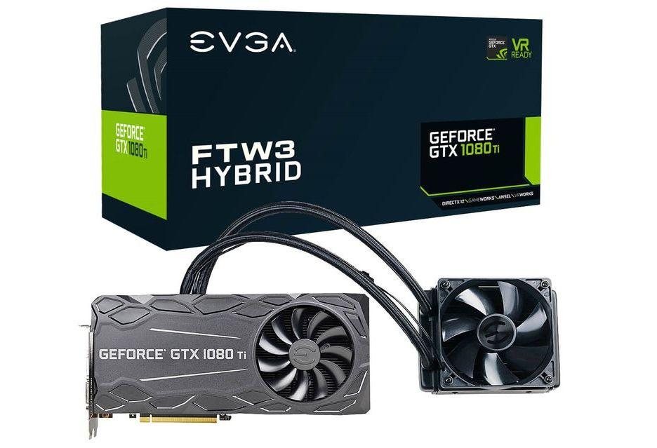 EVGA przedstawia hybrydową wersję GeForce GTX 1080 Ti