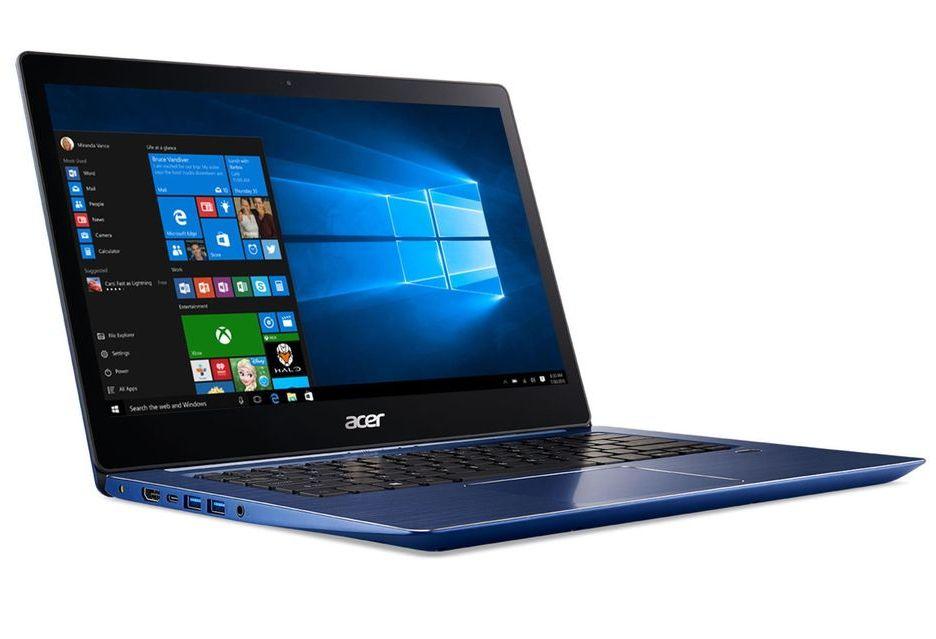 Acer Swift 3 z nowym procesorem Intel Coffee Lake