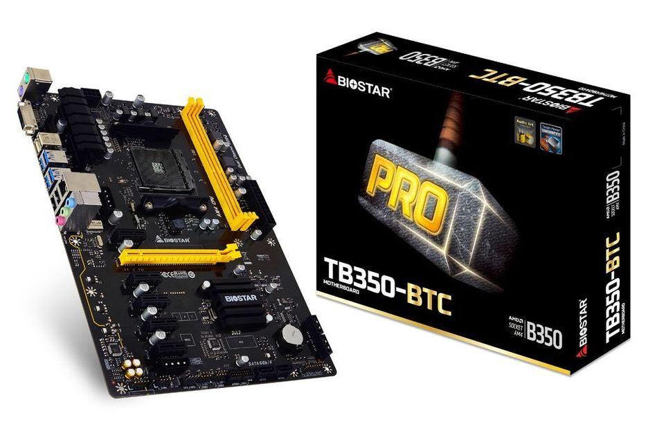 Biostar przedstawia płytę do koparek pod AMD Ryzen - tania nie jest