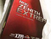 ASUS ROG X399 Zenith Extreme - unboxing topowej płyty pod Ryzen Threadripper