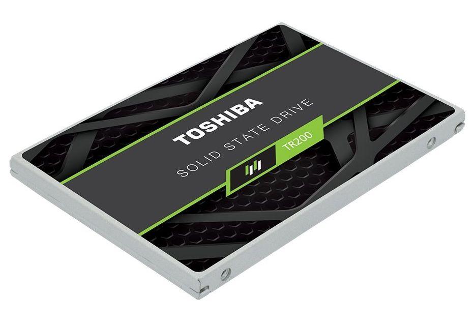 Toshiba przedstawia nośniki TR200 z pamięciami 3D BiCS TLC NAND